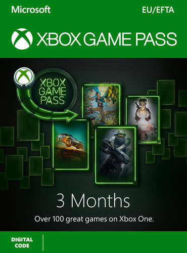 Xbox Game Pass - 3 Months Subscription