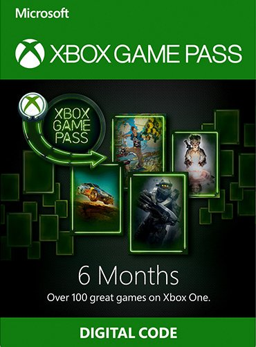 Xbox Game Pass - 6 Months Subscription