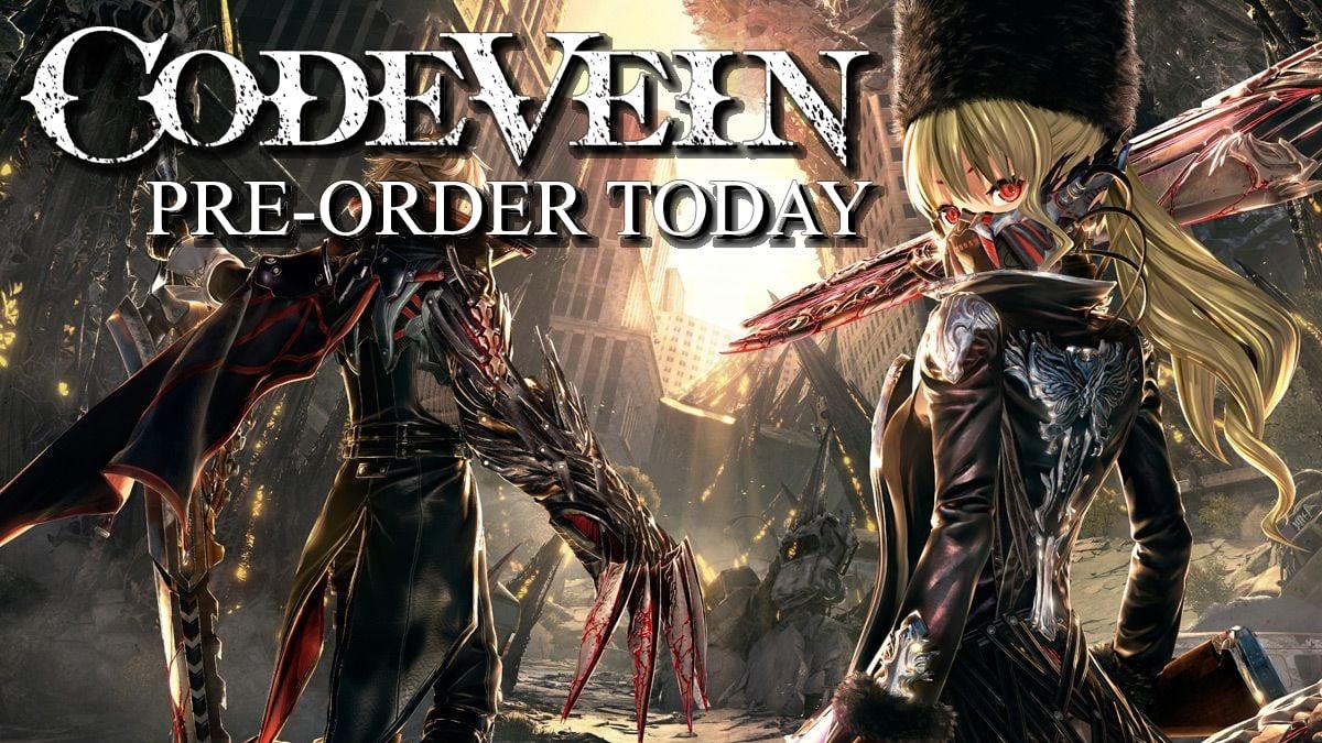Code Vein Pre-Order Bonuses | 2Game com