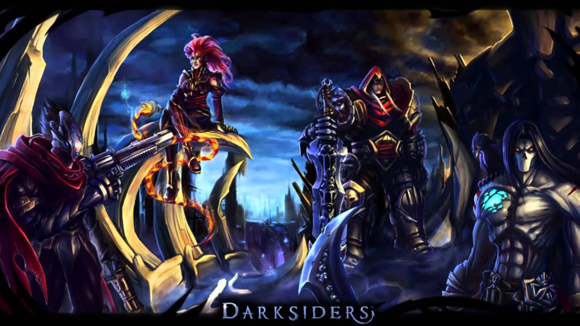 Darksiders Series Sale The Four Merry Horsemen 2game Com