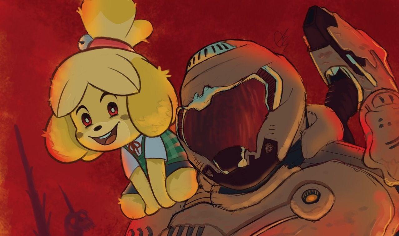 Doom Eternal Animal Crossing Meme Best Promo Ever 2game Com
